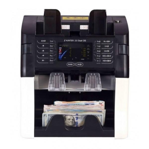 Hitachi I-Hunter 2.0 Dual CIS Fitneslı 18 Ülke Kombinasyonlu Para Sayma Makinesi