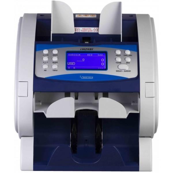 I-Hunter 2600 4 Ülke Para Birimi Karışık Para Sayma Makinesi - Yenilenmiş (1 Yıl Garantili)