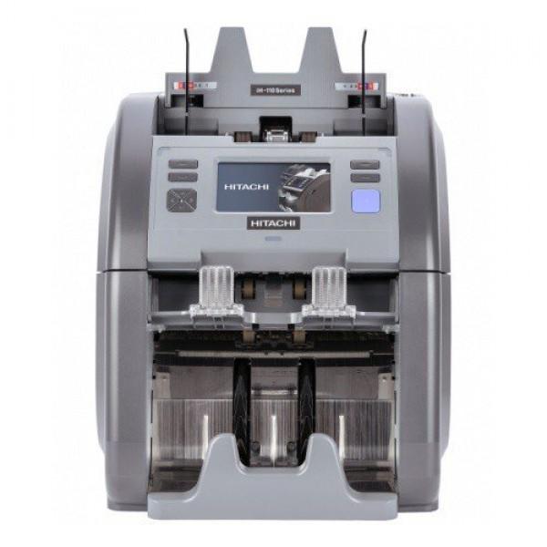Hitachi I-Hunter IH-110 Fitnes'lı İki Katlı, 20 Ülke Kombinasyonlu Karışık Para Sayma Makinesi